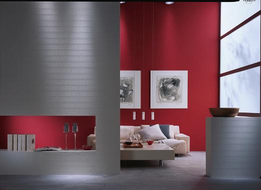 wohnzimmer rot braun:innen architektin Ulrike Reinig-Hühne